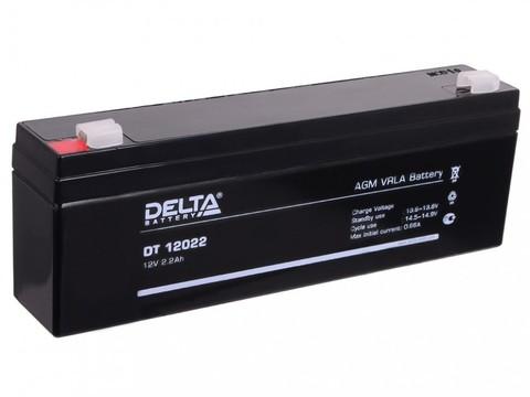 Аккумуляторная батарея Delta DT 12022