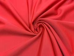 Ткань бельевая утягивающая, красная (метражом)