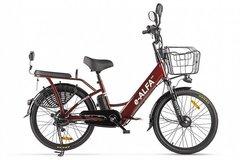 Электровелосипед Green City E-Alfa (2021) Коричневый