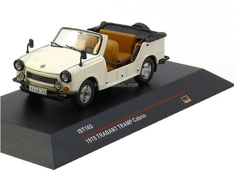 Trabant Tramp Cabrio cream 1978 IST103 IST Models 1:43