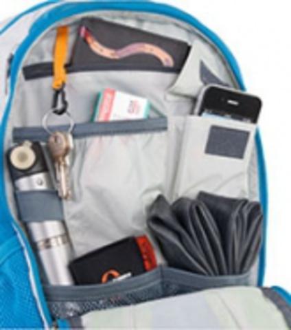 Картинка рюкзак велосипедный Deuter Compact Exp 10 Sl Turquoise-Midnight - 2