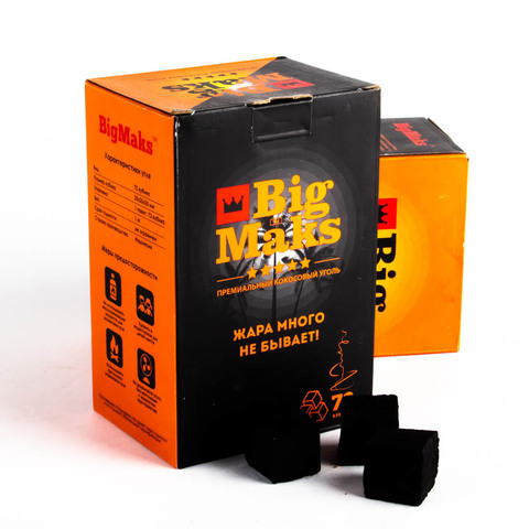 Уголь Big Max 1 кг 25 мм