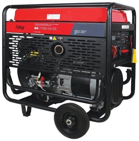Кожух для бензинового генератора Fubag BS 17000 DA ES с АВР (15000 Вт)