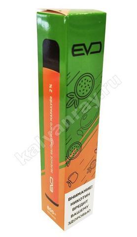 Одноразовый электронный кальян EVO POD, 2% nic - Зеленое Яблоко-Манго-Маракуйя