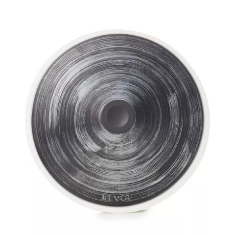 Фарфоровый тажин Argente для газовой плиты, графит/серебро, артикул 653420, серия Revolution 2