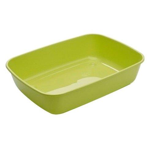 Savic туалет-лоток для кошек Iriz L 50х36.5х11.5 см зеленое яблоко