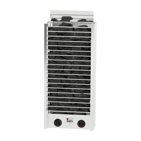Электрическая печь SAWO CIRRUS ROCK CRR3-60NB-P (6 кВт, встроенный пульт, нержавейка)
