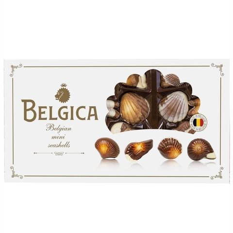 Конфеты BELGICA Mini-Seashells с ореховым пралине 250 г БЕЛЬГИЯ