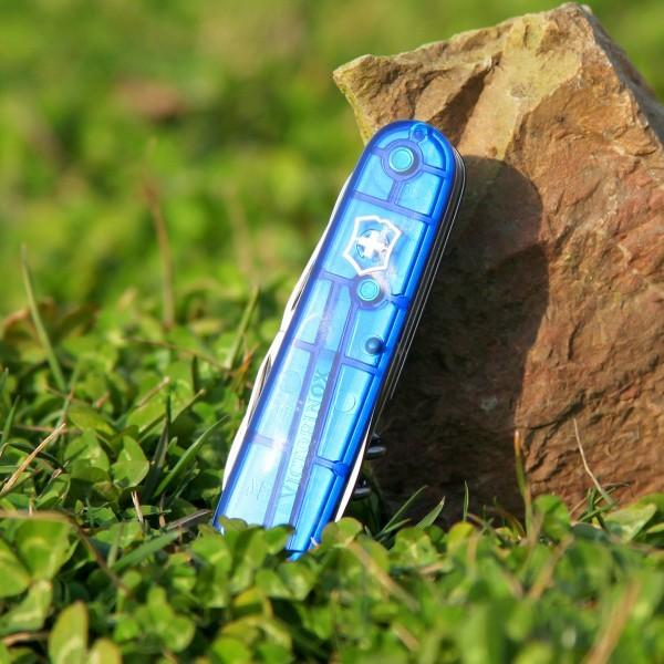 Climber Blue Translucent Victorinox (1.3703.T2)