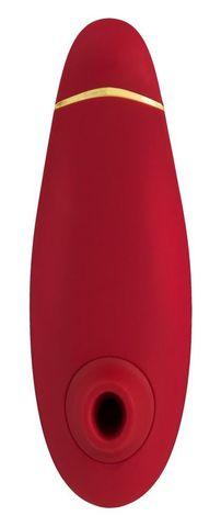 Бесконтактный клиторальный стимулятор Womanizer Premium красный/хром