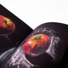 Бумага для рисования Малевичъ Graf'Art black черные листы А4 210х297 мм 25л 150г/м2