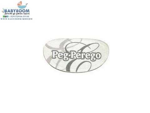 Логотип (лейбл) Peg-Perego, ткань, самоклеющийся