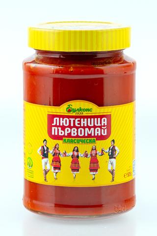 Лютеница классическая (соус сладкий), 525 гр.
