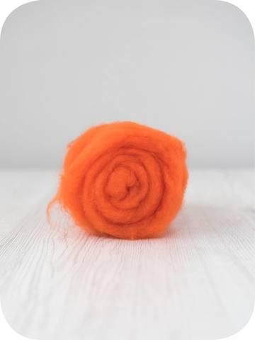 Кардочес тонкий мериносовый Оранжевый (Orange)