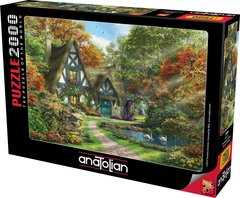 Puzzle Güz Evi. The Autumn Cottage 2000 pcs