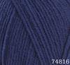 Пряжа LANA LUX 74816 (Т.Синий)