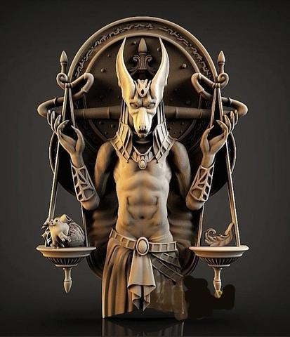 Силиконовый молд № 339  Древний Египет