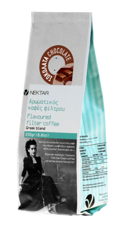 Греческий кофе под френч-прессор Шоколад Nectar 200 гр.