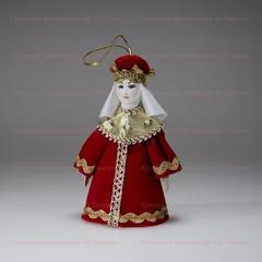 Малая подвесная кукла Царица