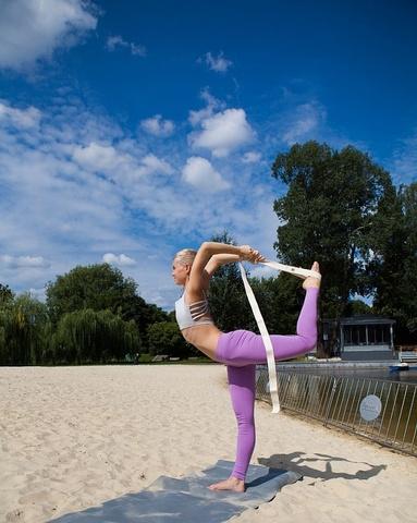 Ремень для йоги Практика 240х4 см