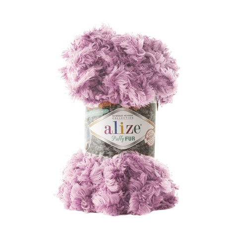 Пряжа Alize Puffy Fur цвет 6103