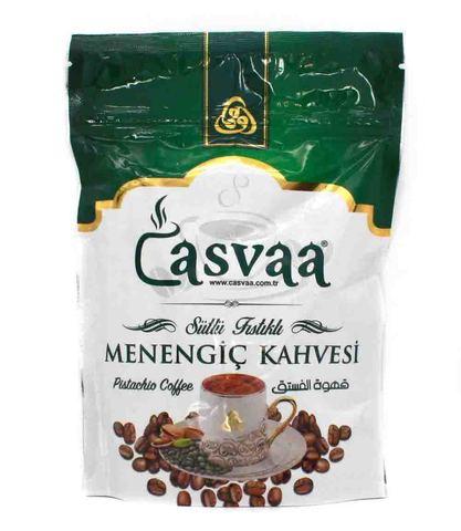 Турецкий кофе молотый с добавлением фисташек и молока, Casvaa, 200 г