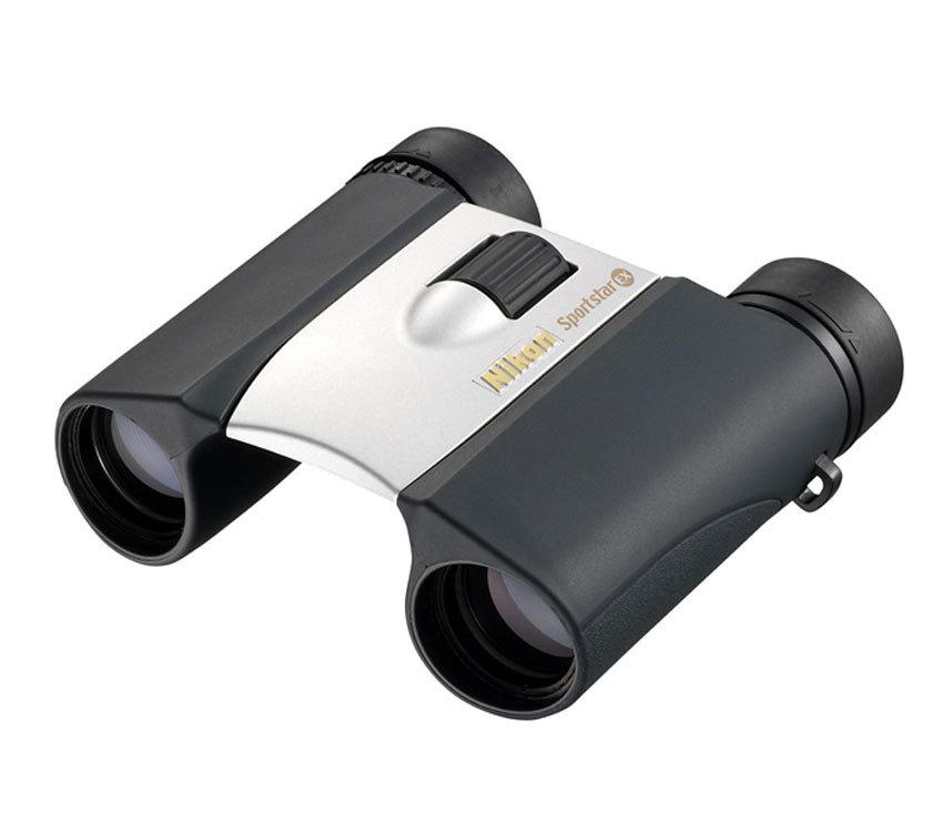 Бинокль Nikon SportStar EX 10x25 DCF silver - фото 1
