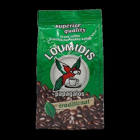 Кофе натуральный молотый LOUMIDIS PAPAGALOS, 194 гр