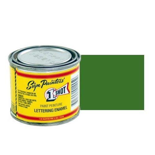 Пинстрайпинг (pinstriping) Эмаль для пинстрайпинга 1 Shot Сосново-зелёный (Medium Green), 118 мл MediumGreen.jpg