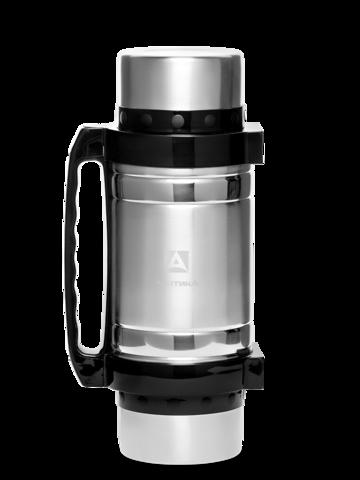 Термос универсальный (для еды и напитков) Арктика (2,5 литра) с супер-широким горлом, стальной