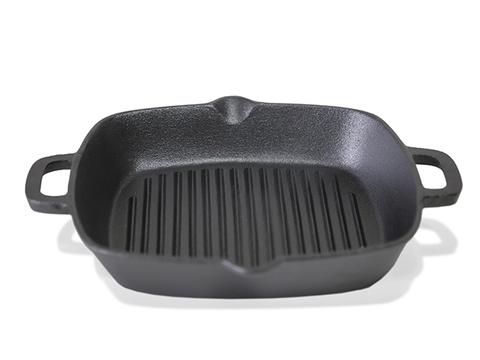 4097 FISSMAN Сковорода гриль чугунная 26 см,  купить