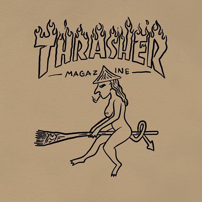 Футболка THRASHER Witch (Tan)