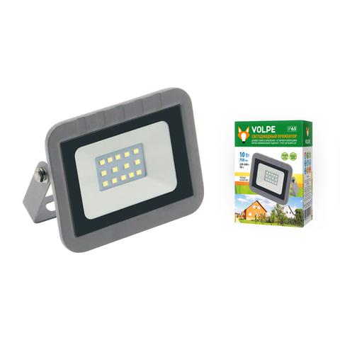 ULF-Q591 10W/WW IP65 220-240В SILVER Прожектор светодиодный. Теплый белый свет(3000К). Корпус серебристый. TM Volpe.