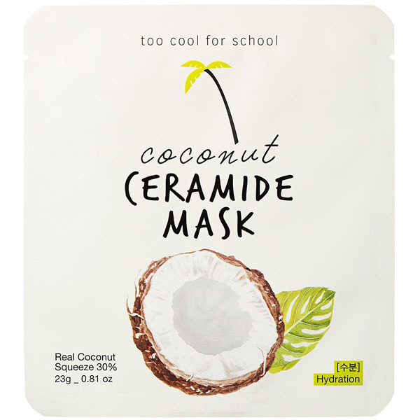 Маска тканевая Too Cool For School Coconut Ceramide Mask