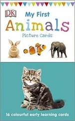 My First Animals : 16 colourful early learning cards