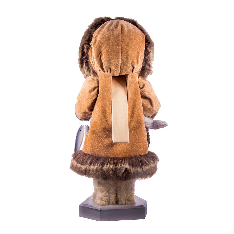 Деревянный щелкунчик «Эскимос»