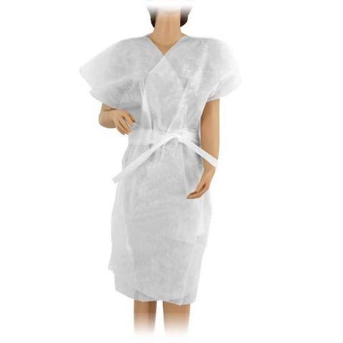 Халат кимоно SMS (люкс) без рукавов белый 10шт