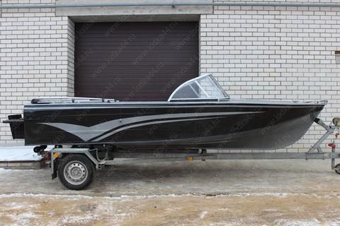 Ветровое стекло «Элит-А» для лодки «Казанка 2М»