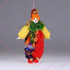 Ёлочная игрушка Рыжий клоун