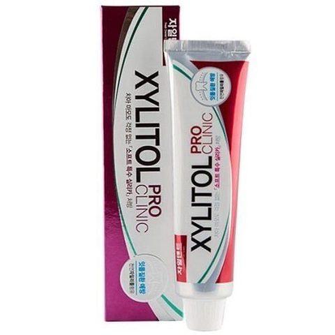 Mukunghwa Xylitol Pro Clinic Herb Fragrant-Green Color зубная паста с лекарственными травами (фиолетовая)