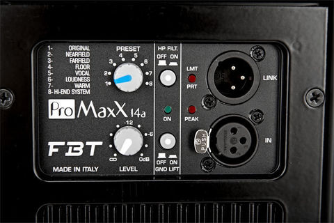 Акустические системы активные FBT ProMaxX 14A