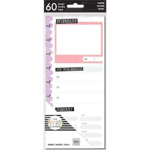 Внутренний блок для ежедневника Create 365 Happy Planner Currently -60шт