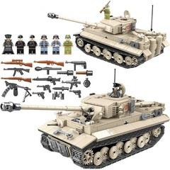Конструктор серия Армия Танк Тигр 131
