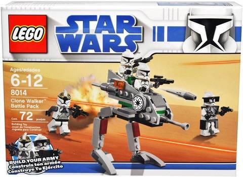 LEGO Star Wars: Шагающие роботы-клоны 8014 — Clone Walker Battle Pack — Лего Звездные войны Стар Ворз