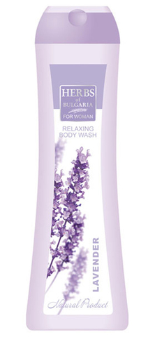 Релаксирующий гель для душа для женщин Lavender 250 мл.