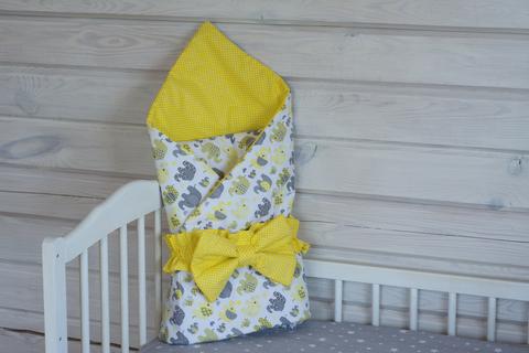 Конверт-одеяло на выписку 98*98 см