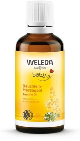 Weleda Масло для массажа животика младенцев 50 мл