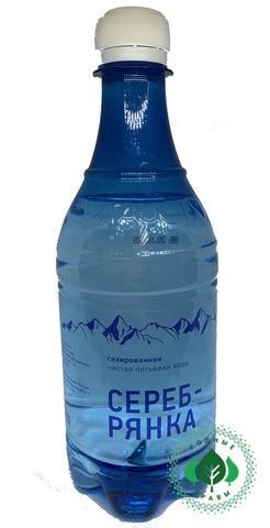 Вода Серебрянка газированная 500 мл