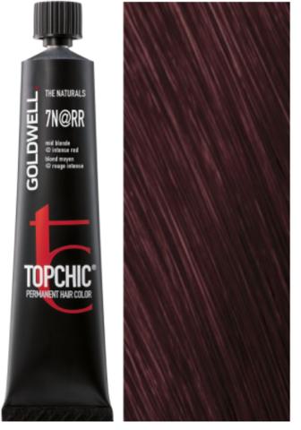 Topchic 7N@RR - средний блонд с интенсивно-красным сиянием (русый аметист) 60ml