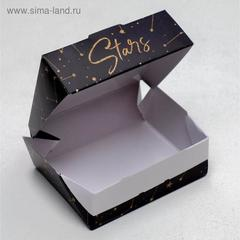 Коробка складная «Космос», 10 × 8 × 3.5 см